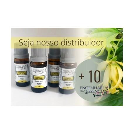 Óleo Essencial de Ylang Ylang III - ANVISA p/ Distribuição 10 unidades de 10 ml