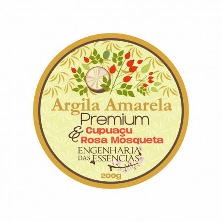 Argila Amarela Premium - ANVISA